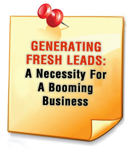 Fresh Lead Generation.