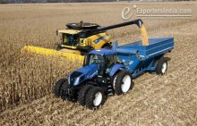 Agriculture Machine Working in Field